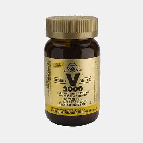 VM 2000 - 60 COMPRIMIDOS - SOLGAR