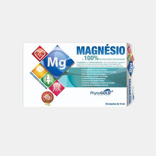 MAGNESIO 100% - 20 AMPOLAS - PHYTOGOLD