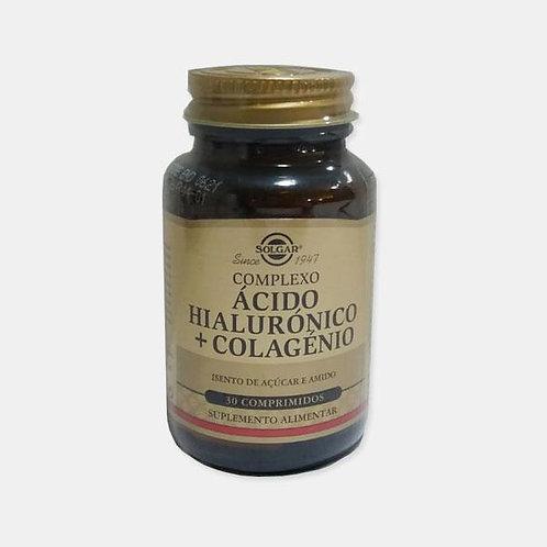 ACIDO HIALURONICO + COLAGENIO - 30 COMPRIMIDOS - SOLGAR