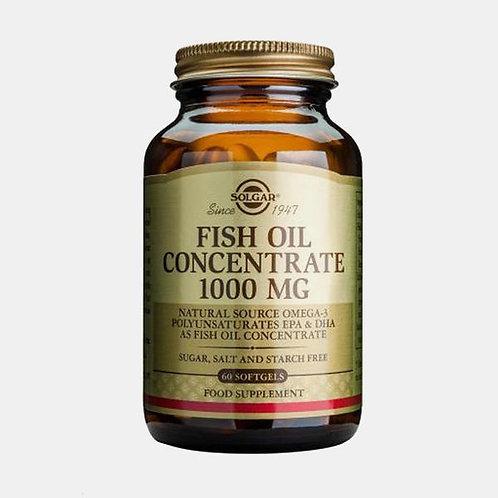 FISH OIL CONCENTRATE 1000mg - 60 CÁPSULAS - SOLGAR
