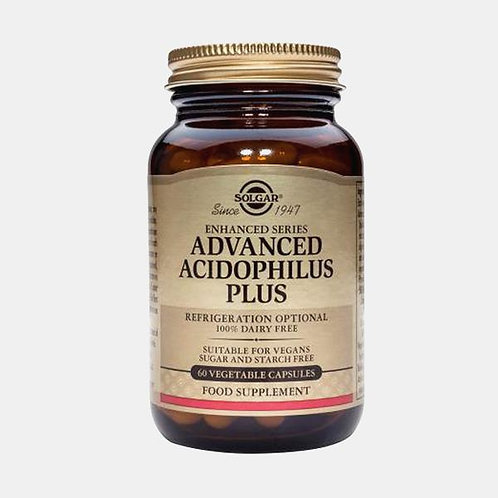 ADVANCED ACIDOPHILUS PLUS - 60 CAPSULAS - SOLGAR