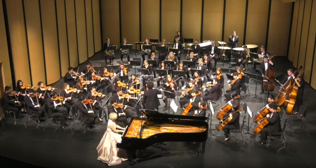 Rachmaninoff Piano Concerto 2 with the U