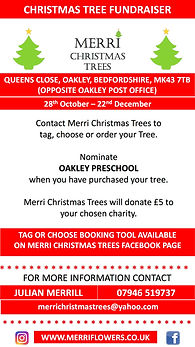MERRI Christmas Tree Fundraiser 2020 OAK