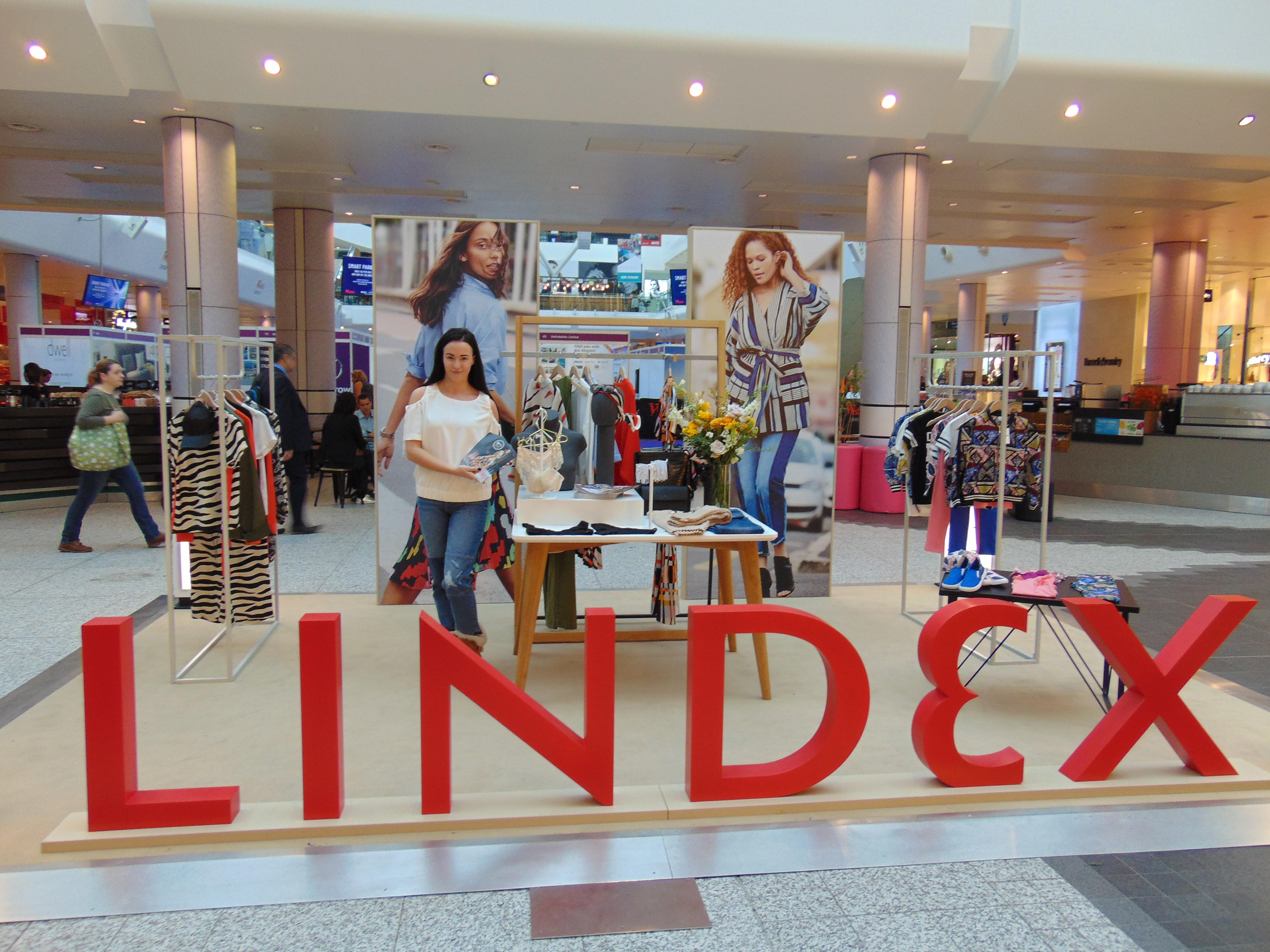Lindex Pop up Westfield Shep Bush