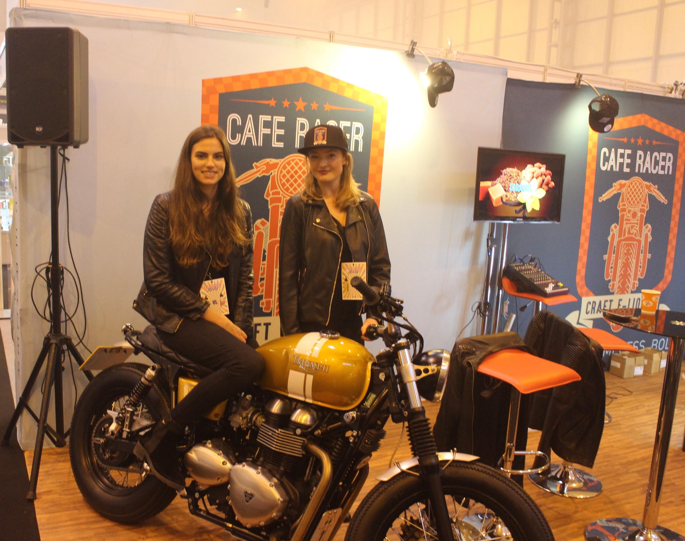 Vaper Expo- CAFE RACER VAPE OCT 2016