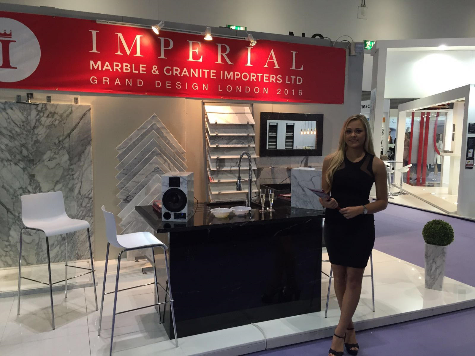 amy Imperial Marble GRAND DESIGNS