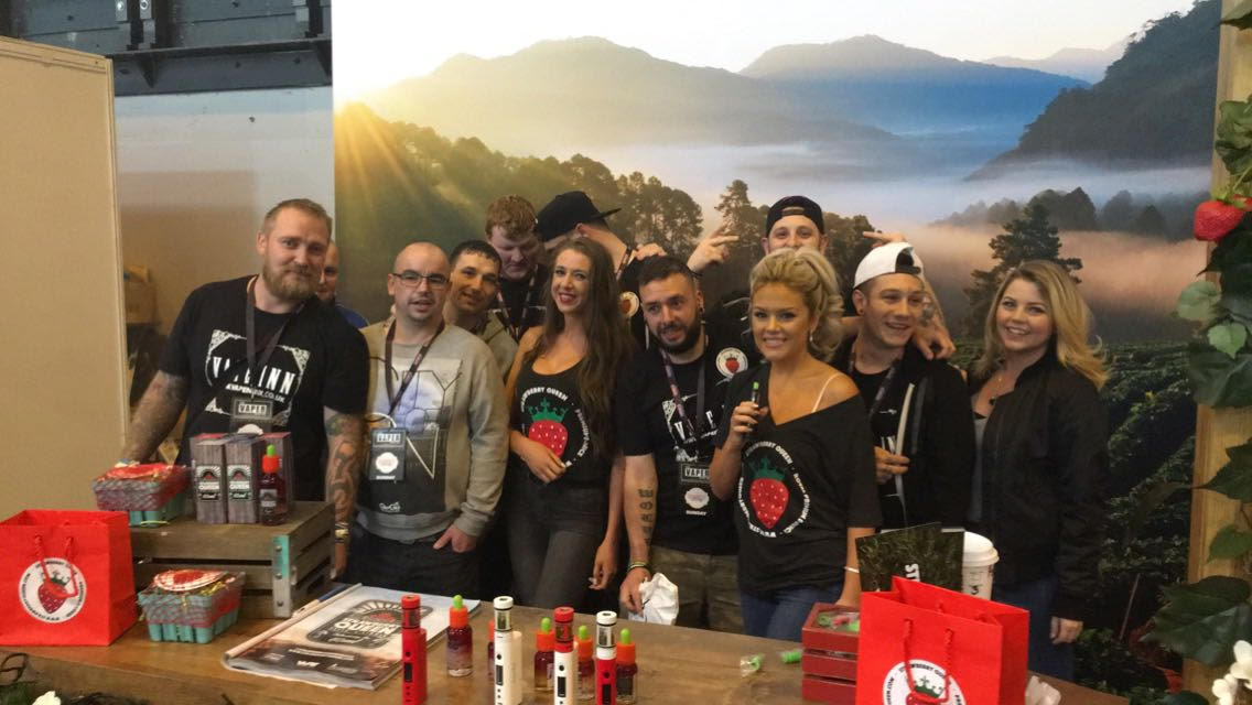 Vaper Expo- STRAWBERRY QUEEN OCT 2016 1