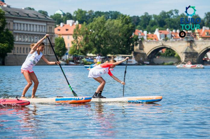 SUP Kids en el Prague Paddle Fest