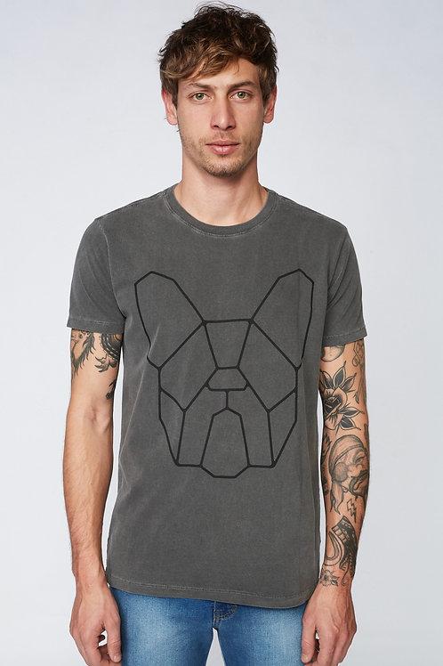T-Shirt Clássica - Cinza