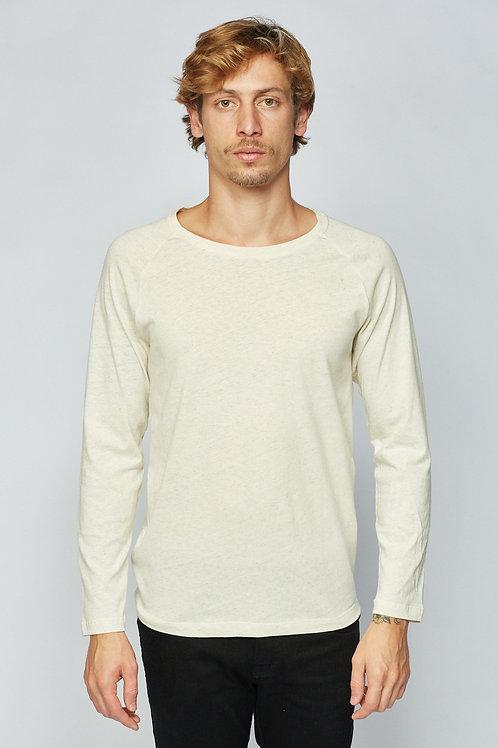 T-Shirt Raglan Drum - Linho