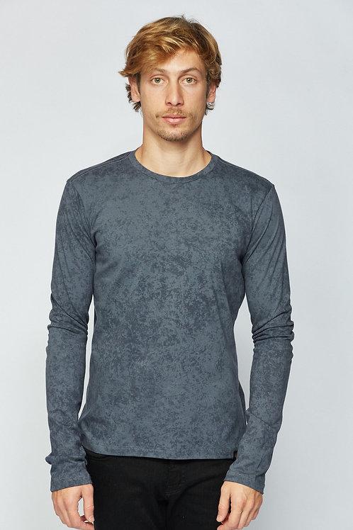 T-Shirt ML Base - Azul Marinho