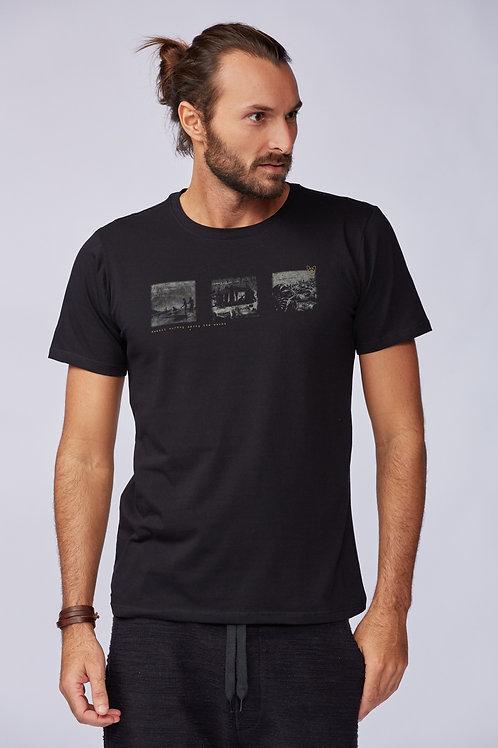 T-Shirt Among Waves