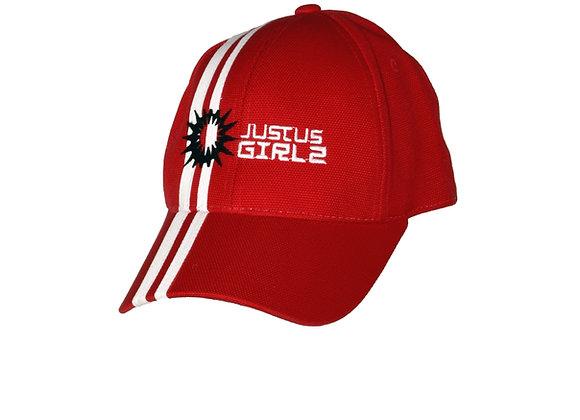 Striped Racing Cap - Girlz