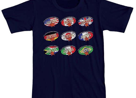 Flags of Many Nations Logo T