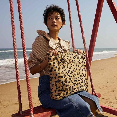 Beachy Leather & Hair on Bag