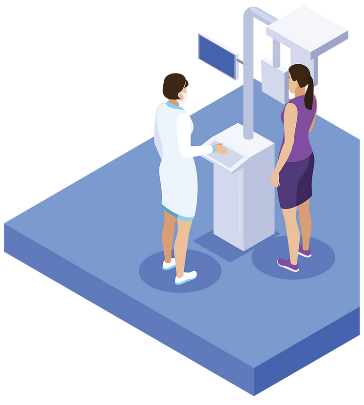 We only need a CBTC scan of the patient, to create a custom model