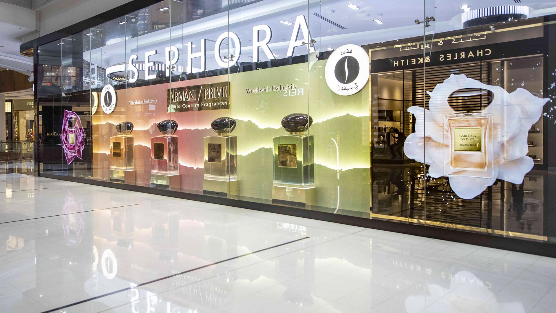 Armani Prive Sephora Dubai Mall