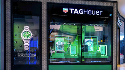 Tag Heuer Green Dial Launch Dubai Mall w