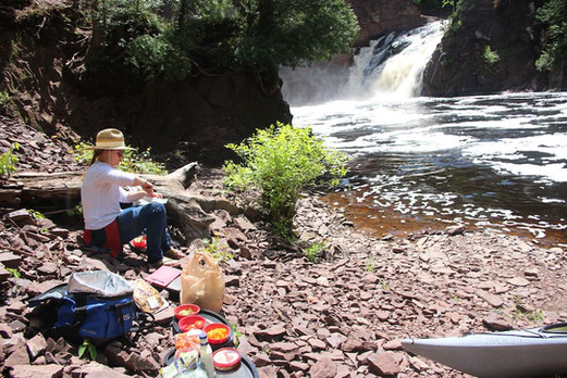 Waterfall Lunch