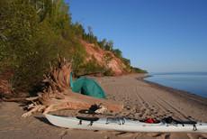 Lake Superior Campsite