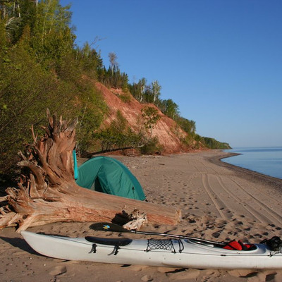 Lake Superior Campsite