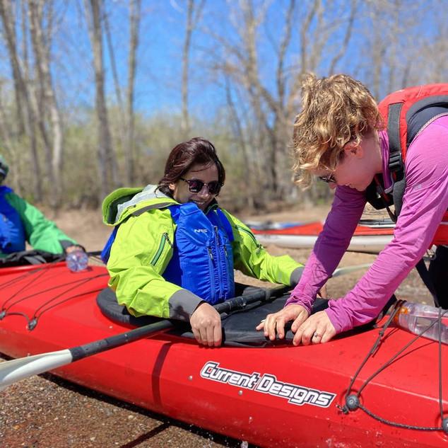 Kayak Guide in Bayfield Wisconsin