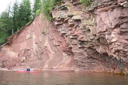 Lake Superior Shoreline Paddle