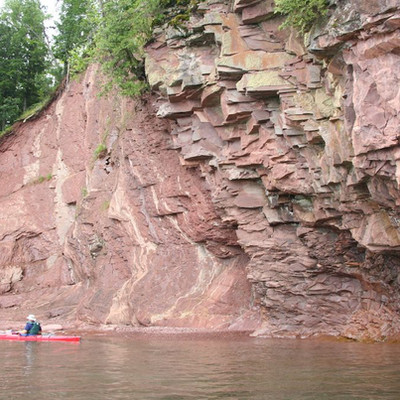 Lake Superior Shoreline Paddle
