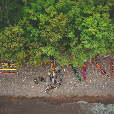 Sea Kayaking in the U.P. on Lake Superior