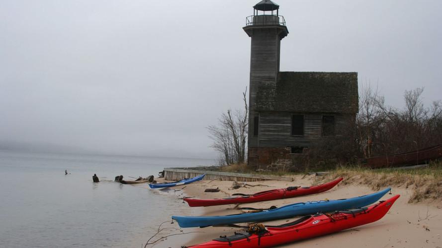 Kayaking to Lighthouse