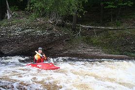 Whitewater Kayaking Montral Canyon