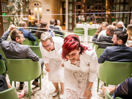 Nadine & Anja - Freie Trauung im Gewandhaus Dresden