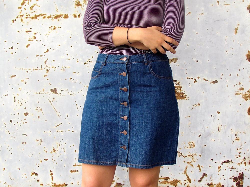 theselostsouls | Trend: Denim Skirt