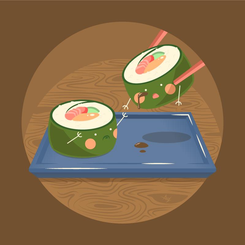 Sushi Trouble