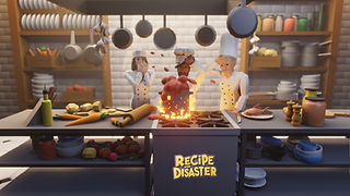 Prep your ingredients and fire up the fryers as Recipe for Disaster, a tasty new restaurant sim, will launch into Early Access in Q3 2021.