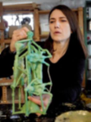 Bronze sculpture, Art, Bronze, kunst Susanne Kirsaa, Kirsaa, Kunstværker, skulpturer, susanne kirså