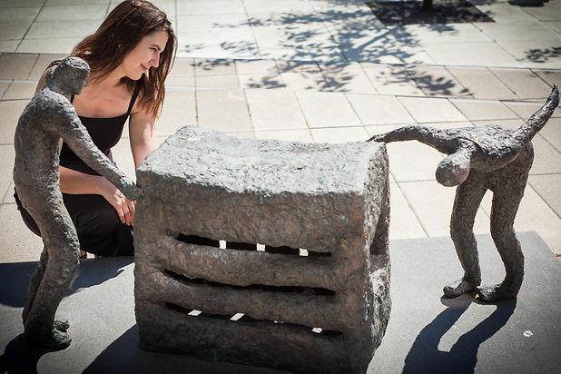 Bronze sculpture, Art, Bronze, kunst Susanne Kirsaa, Kirsaa, Kunstværker, skulpturer