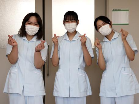 看護師は大変な職業だけど、人とたくさん関わることができる