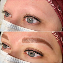 Before / After Combination Brows