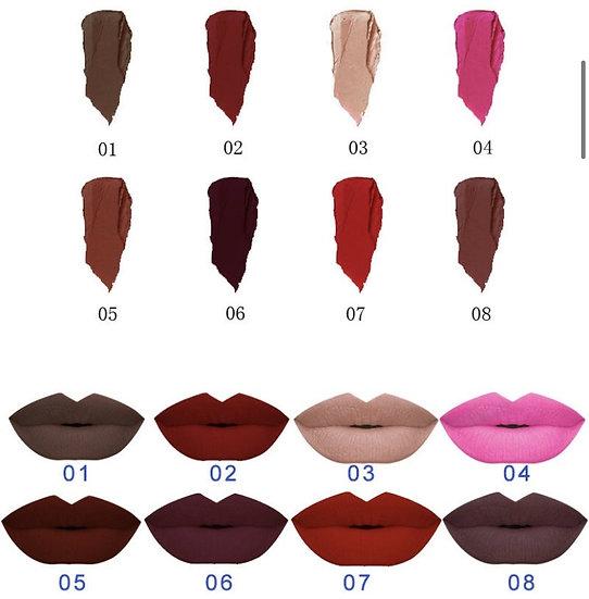 ttwo non-sticky, liquid, matte lipstick, vegan, waterproof , long lasting