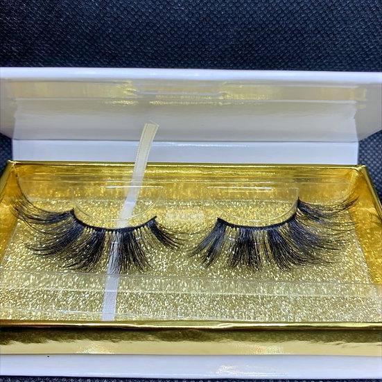 Lulu lashes SD13, 3D Luxury reusable mink eyelashes