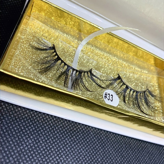 Mishel SD07, 3D Luxury reusable mink eyelashes