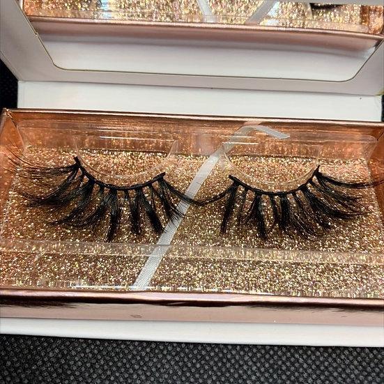 Ntombi #01 3D Luxury reusable mink eyelashes