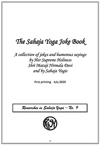 THE SAHAJA YOGA JOKE BOOK