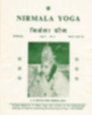 Nirmala Yoga magazine