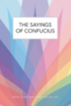 SAYINGS OF CONFUCIUS front cover 2018.11