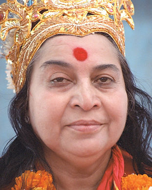 Puja photographs of Shri Mataji Nirmala Devi