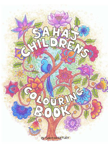 SAHAJ CHILDREN'S COLOURING BOOK