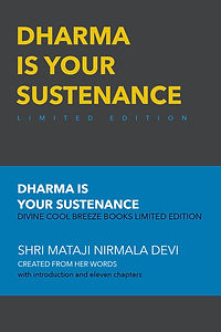 DHARMA IS YOUR SUSTENANCE LE