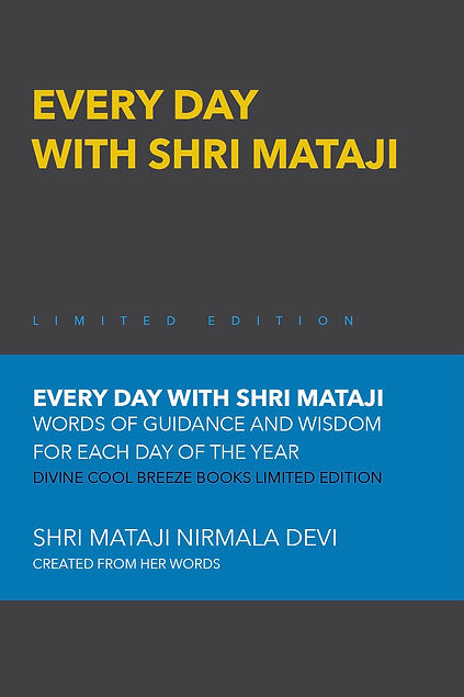EVERY DAY WITH SHRI MATAJI limited edition
